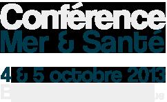 Health sea, conférence Mer et Santé, Biarritz 2013